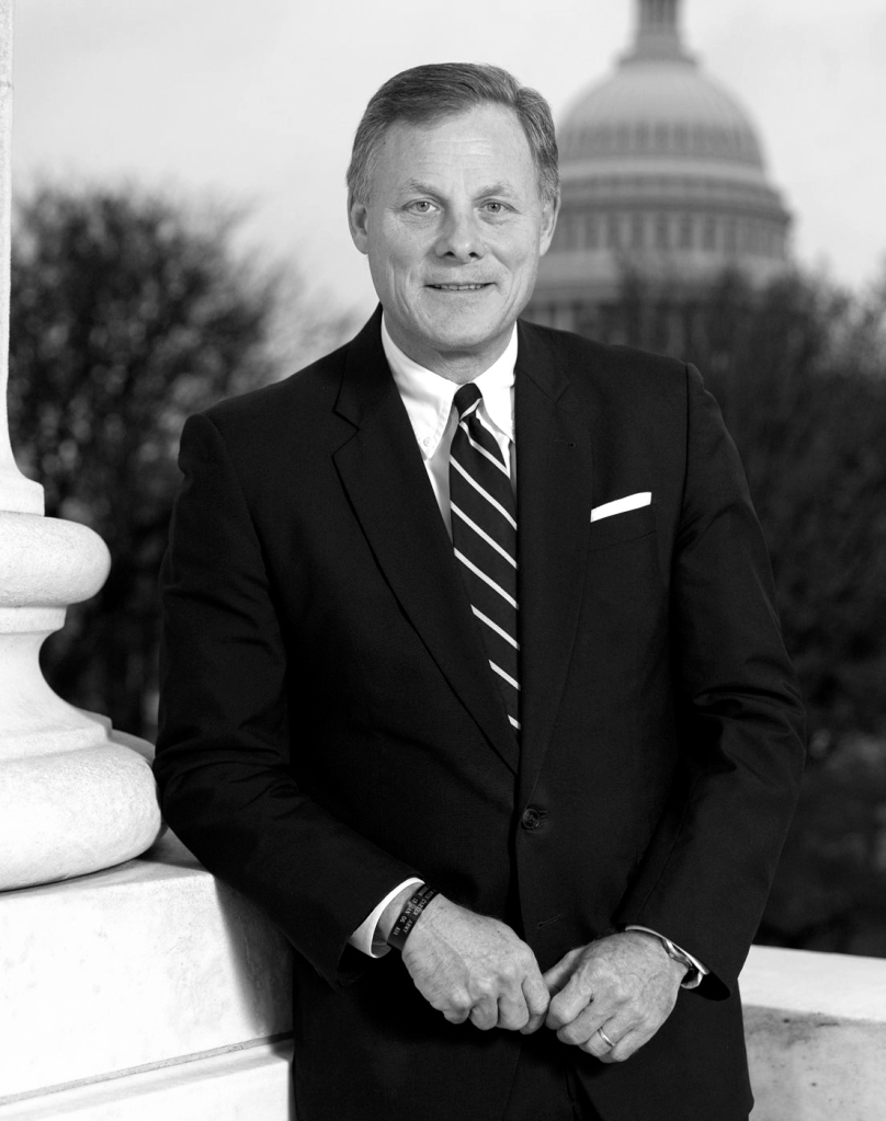 This image has an empty alt attribute; its file name is richard-burr-bw.jpg