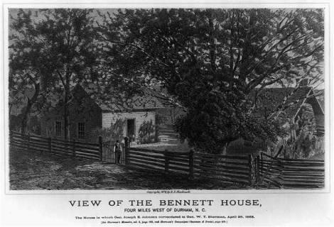 History 1d Bennett House BW