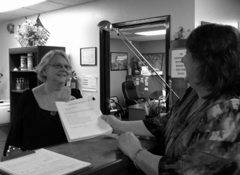 Terri Johnson files paperwork