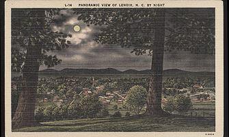 Tuckers Barn postcard