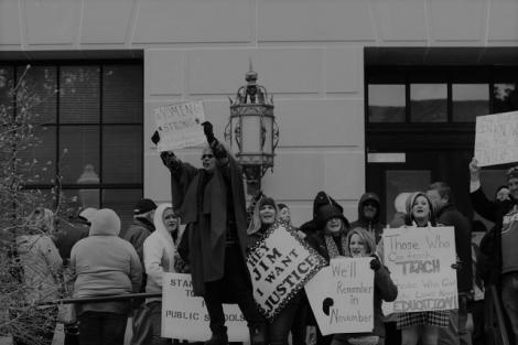 WV Teachers demonstrate