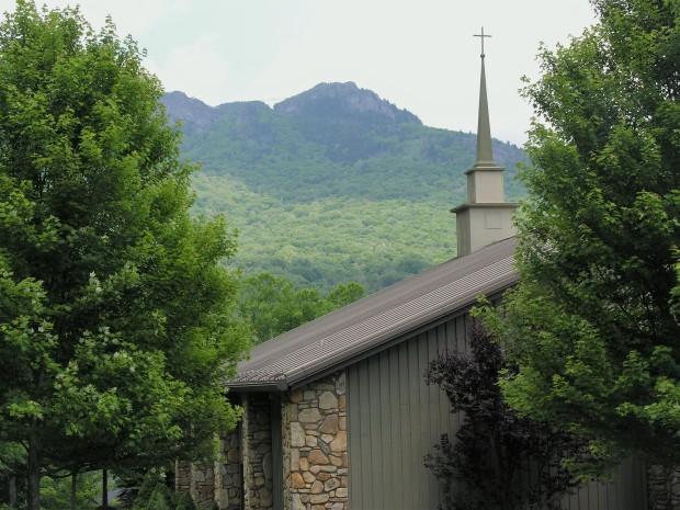 Church at Grandfather Mountain